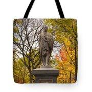 Alexander Hamilton Statue Tote Bag