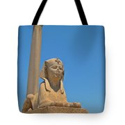 Alexandria Egypt Tote Bag
