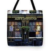 Alex's London Pub Tote Bag