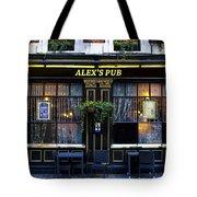 Alex's Pub Tote Bag