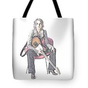 Alexz Johnson Tote Bag