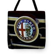Alfa Romeo Badge Tote Bag