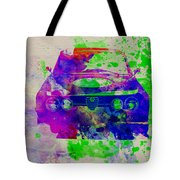 Alfa Romeo Front Watercolor 1 Tote Bag