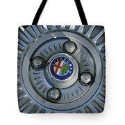 Alfa Romeo Wheel Rim Tote Bag