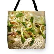 Alfalfa Sprouts Tote Bag