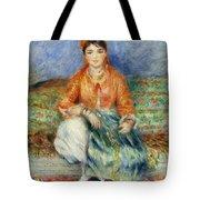 Algerian Girl Tote Bag