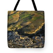 Alhama De Granada From The Air Tote Bag