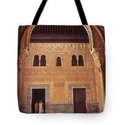 Alhambra Courtyard Tote Bag