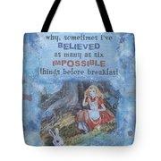 Alice Dream Tote Bag