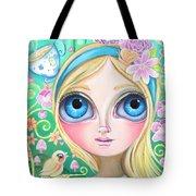 Alice In Pastel Land Tote Bag