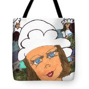 Alice The Waitress Tote Bag