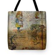 Alice's Adventures Tote Bag