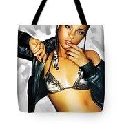 Alicia Keys Artwork 2 Tote Bag by Sheraz A