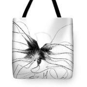 Alien Tote Bag by Anne Gilbert