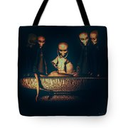 Alien Autopsy Alien Abduction Tote Bag