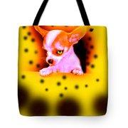 Alien Chihuahua Tote Bag