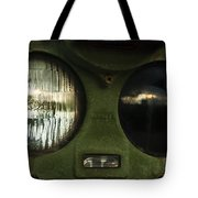 Alien Eyes Tote Bag by Christi Kraft