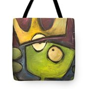 Alien King Tote Bag