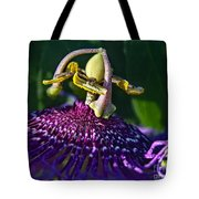 Alien Landing Tote Bag