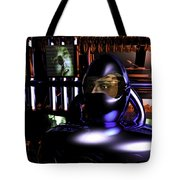 Alien Mind Control Tote Bag