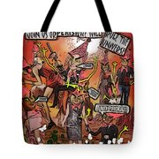 Alien Nation Tote Bag