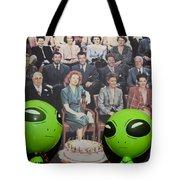 Alien Nostalgia Tote Bag