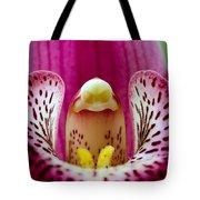 Alien Orchid Tote Bag