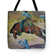 Alien Roundup Tote Bag