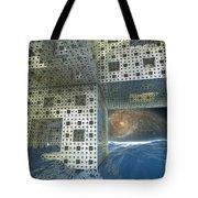 Alien Sea By Kc Tote Bag
