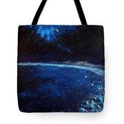Alien Storm Tote Bag