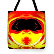 Alien Visitor Tote Bag