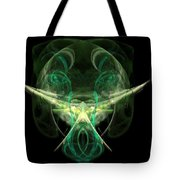 Alien With A Beard And Mustache Tote Bag