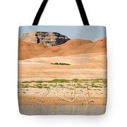 Alien Wreckage - Lake Powell Tote Bag