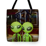 Aliens And Whatamacallit Tote Bag