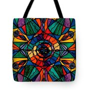 Alignment Tote Bag by Teal Eye  Print Store