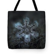 Snowflake Photo - Alioth Tote Bag