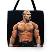 Alistair Overeem Tote Bag