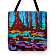 Alizarin Woods Tote Bag