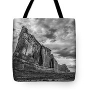 All Aboard Bw Tote Bag