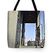 All Aboard From The Series View Of An Old Railroad Tote Bag