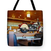 All American Diner 4 Tote Bag by Bob Christopher