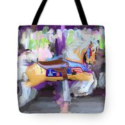 All American Pony Tote Bag
