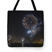 All At Once San Diego Fireworks Tote Bag