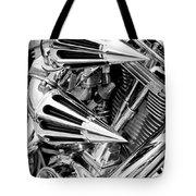 All Chrome Chopper Tote Bag