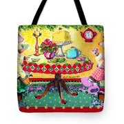 All Creatures Were Stirring Even The Mice Tote Bag