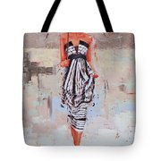 All Dressed Up Tote Bag by Laura Lee Zanghetti