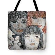 All God's Children Tote Bag
