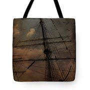 All I Ask Is A Tall Tall Ship Tote Bag
