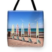 All In A Row Too Tote Bag