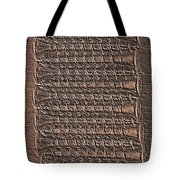 All Lined Up 5 - Digital Effect Tote Bag